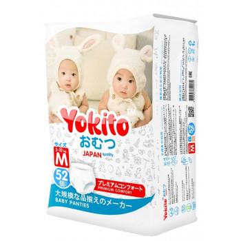 Yokito трусики M #3, 5-10 кг, 52шт (51600)