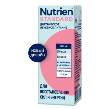 Нутриэн Стандарт диетическое лечебное питание, с нейтральным вкусом, 200мл  (17731)