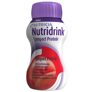 Nutridrink компакт протеин, охлаждающий фруктово-ягодный вкус, 125мл (76317)