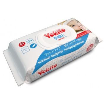 Yokito детские влажные салфетки, 80шт (48166)