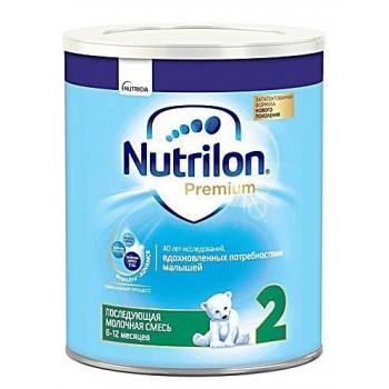 Nutrilon Premium молочная смесь #2, 6-12 месяцев, 400гр (40115)