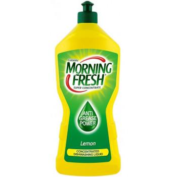 Morning Fresh средство для мытья посуды, лимон, 900мл (22686)