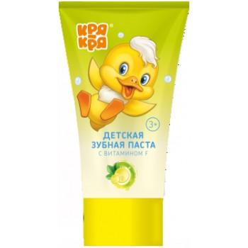 Кря Кря детская зубная паста, лимонад, 50мл (03767)