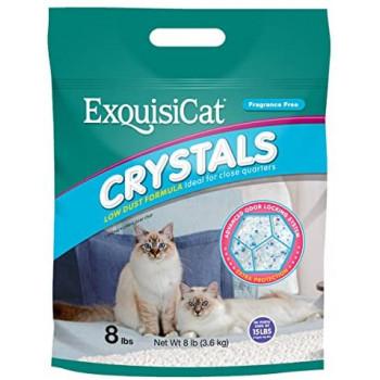 Crystals силикагелевый наполнитель для кошачьих туалетов 8л (54453)