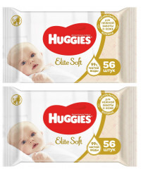 Huggies new born влажные салфетки для детей, выгодный набор 112шт (73021)