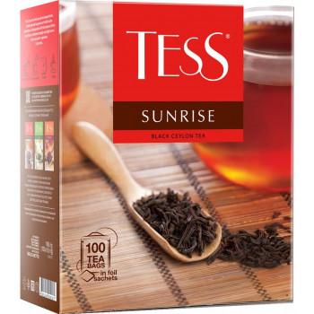 Tess Sunrise цейлонский чёрный чай, в пакетиках, 100шт (09181)