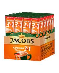 Jacobs Классика кофе растворимый 3в1, 24 пакетика (78356)