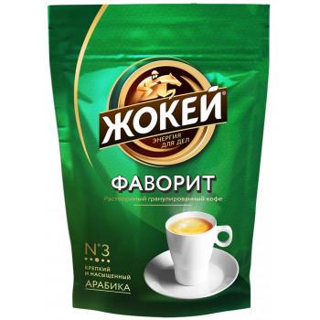 Жокей Фаворит №3 кофе растворимый сублимированный, сашет 150гр (10125)