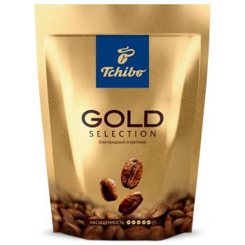 Tchibo Gold Selection кофе растворимый сублимированный, сашет 285гр (71473)