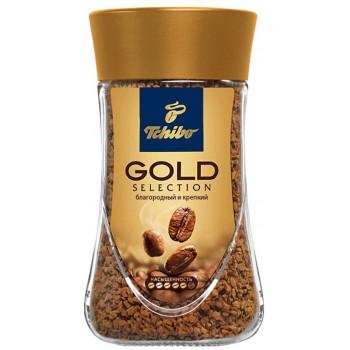 Tchibo Gold Selection кофе растворимый сублимированный, банка 200гр (67650)