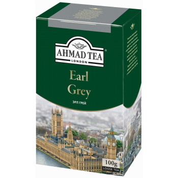 Ahmad Earl Grey Tea листовой чёрный чай, 100гр (08594)