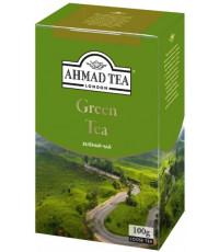 Ahmad Green Tea листовой зеленый чай, 100гр (13048)