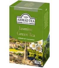 Ahmad Jasmine Green Tea листовой зеленый чай, 100гр (13055)
