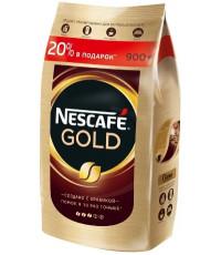 Nescafe Gold кофе растворимый сублимированный, сашет 900гр (01968)