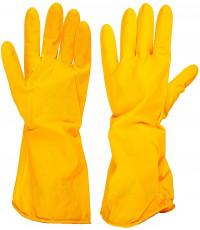 Резиновые перчатки толстые для хозяйственных работ, М, 1пара, (38298)