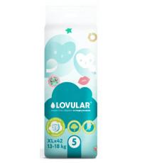 Lovular Sweet kiss подгузники #5 XL, 13-18кг, 42шт (90116)
