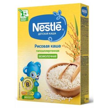 Nestle рисовая каша гипоаллергенная, без молока, с 4 месяцев, 200гр (31023)