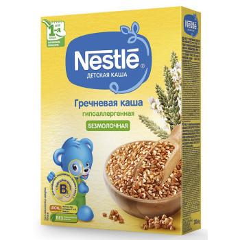 Nestle гречневая каша гипоаллергенная, без молока, с 4 месяцев, 200гр (31047)