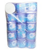 Луна туалетная бумага, 15 рулонов, 2 слоя (60015)