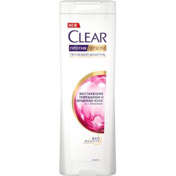 Clear шампунь против перхоти, Восстановление поврежденных и окрашенных волос, 200мл (44275)