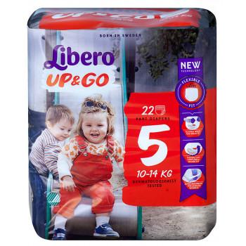 Libero Up&Go трусики #5, 10-14 кг, 22шт (86562)