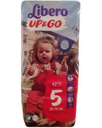 Libero Up&Go Трусики #5, 10-14 кг, 42шт (75684)