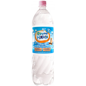 Фруто Няня вода детская, с 0 месяцев, 1,5л (01616)