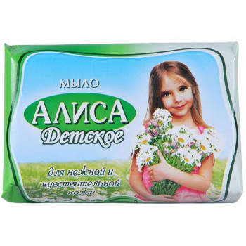 Детское мыло, Алиса, 150гр (10608)