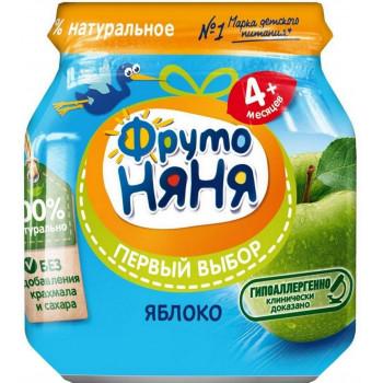Фруто Няня пюре, яблоко, c 4 месяцев, 100гр (05621)