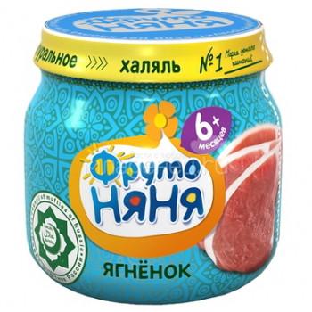 Фруто Няня пюре мясное, из ягненка, c 6 месяцев, 80гр (04471)