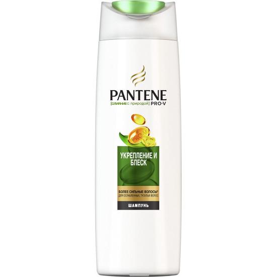 Pantene шампунь Укрепление и блеск, для ослабленных тусклых волос 400мл (60752)