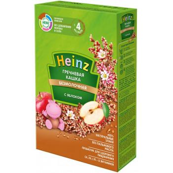 Heinz гречневая каша с яблоком, без молока, с 4 месяцев, 200гр (01619)