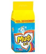 Миф универсальный стиральный порошок автомат, свежий цвет, 9кг (72762)