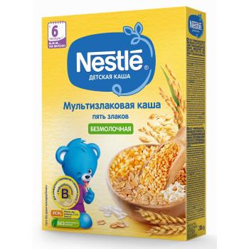 Nestle мультизлаковая каша из 5 злаков, без молока, с 6 месяцев, 200гр (31245)