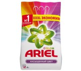 ARIEL Color стиральный порошок автомат, Насыщенный цвет, для цветного белья, 6кг (73122)