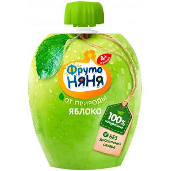 Фруто Няня пюре сашет, яблоко, c 4+ месяцев, 90гр (06130)