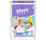 Happy new born подгузники #1, 2-5 кг, 42шт (00693)