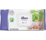 Libero салфетки влажные для детей, Без запаха, 64шт (50470)