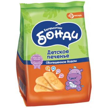 Бонди детское печенье, обогащенное йодом, c 5 месяцев, 180гр (03674)