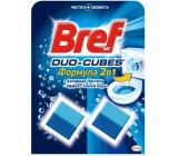 Bref duo-cubes таблетки для сливного бачка, Формула 2в1, 2шт (97242)