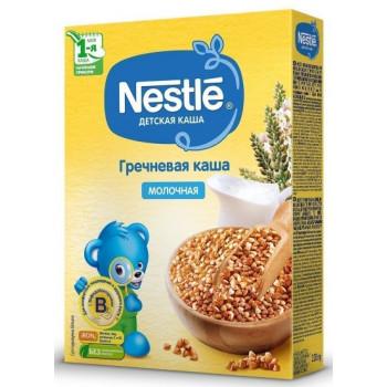 Nestle гречневая каша, с молоком, с 4 месяцев, 220гр (00416)