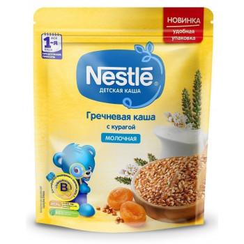 Nestle гречневая каша с курагой, с молоком, с 5 месяцев, 220гр (00430)