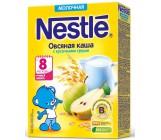 Nestle каша молочная, овсяная с кусочками груши, с 8 месяцев, 220гр (00294)