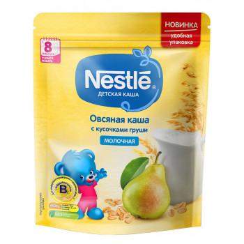 Nestle овсяная каша с кусочками груши, с молоком, с 8 месяцев, 220гр (00294)
