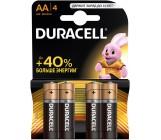 Duracell батарейки пальчиковые АА 4шт (52536)