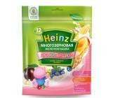 Heinz Любопышки каша многозерновая, слива, абрикос, черника, с 1-3 лет, 200гр  (01800)