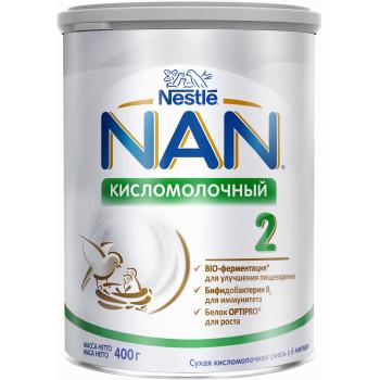 Nestle NAN сухая кисломолочная смесь #2, с 6-12 месяцев, 400гр (83348)