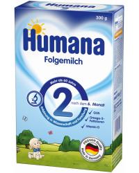 Humana сухая молочная смесь #2, с 6 месяцев, 300г (82175)
