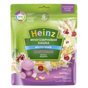Heinz Лакомая каша многозерновая, яблоко и вишня, с 6 месяцев, 200гр (01985)