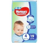 Huggies  ultra comfort #4 подгузники 8-14 кг, для мальчиков, 19шт (43550)